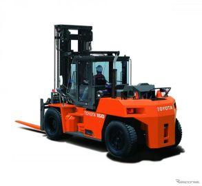 トヨタL&F、10〜23トン積ディーゼルフォークリフトを発売…最新排出ガス規制適合