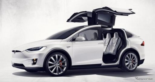 テスラ モデル X に世界最速SUV、「P100D」…0‐96km/h加速2.9秒