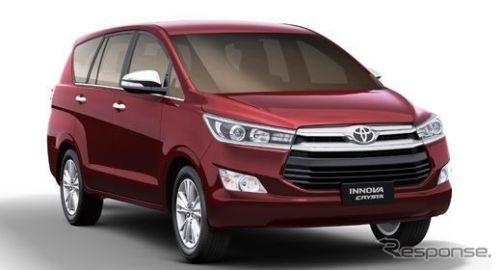 トヨタのインド販売12%増…新型ミニバン好調 8月