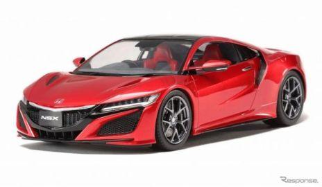 【全日本模型ホビーショー16】タミヤ、新型NSX プラスチックモデル&電動RCカーを発表