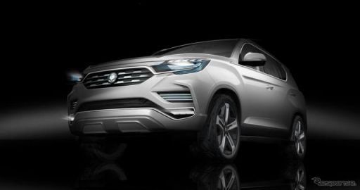 【パリモーターショー16】韓国サンヨン、LIV‐2 初公開へ…高級SUV