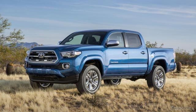 トヨタ、北米でピックアップトラック タコマ の生産能力増強…年産16万台へ