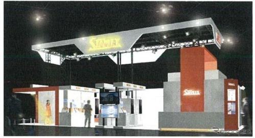 【CEATEC 16】スタンレー電気、車載インテリア/エクステリア向け可視光LEDなど紹介
