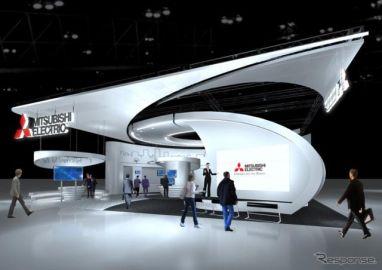 【CEATEC 16】三菱電機、次世代自動車運転支援技術を紹介