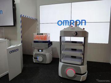 【CEATEC 16】生産ラインの風景を変える…オムロンの自動搬送ロボット
