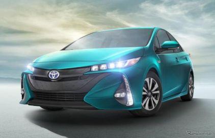 トヨタ プリウス PHV 新型、換算燃費は56km/リットル…米国最高