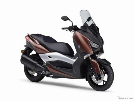 ヤマハ、欧州向け新型スクーター XMAX 300 を発表…新開発エンジン搭載