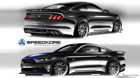 【SEMAショー16】フォード マスタング にスーパーチャージャー…825馬力へ