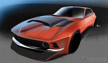 【SEMAショー16】「ムジラ」とは何だ?!…マスタング+日産 GT-R