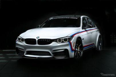 【SEMAショー16】BMW M3、新Mパフォーマンスパーツ初公開