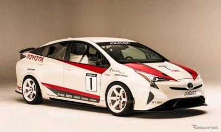 【SEMAショー16】トヨタ プリウス にサーキット仕様…旋回性能はスーパーカー並み