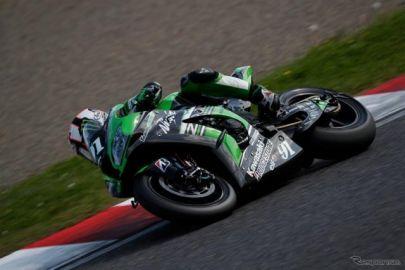 【MFJ全日本ロードレース 最終戦】ハスラムが2分06秒261でトップに浮上