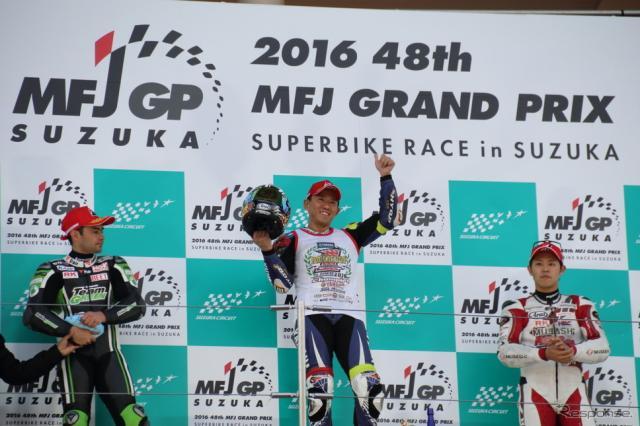 2016全日本ロードレース選手権最終戦(JSB1000)《撮影 吉田知弘》