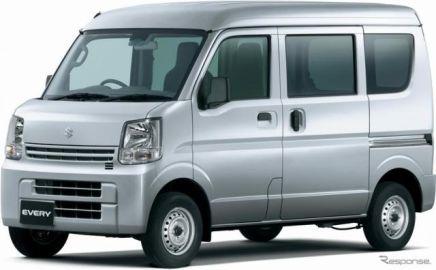 スズキ エブリイ、充実装備の特別仕様車に4AT車を設定