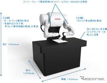 「ロボットは東大に入れるか」デンソー製ロボットアームが代筆