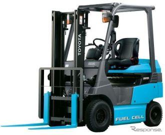 燃料電池フォークリフトの市販1号車、関空に導入へ…豊田自動織機