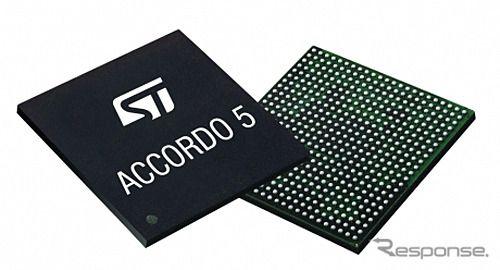 STマイクロ、低中価格帯自動車向け車載用IC「Accordo5」を発表