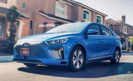 【ロサンゼルスモーターショー16】ヒュンダイの プリウス ハンター、アイオニック …今度は自動運転車
