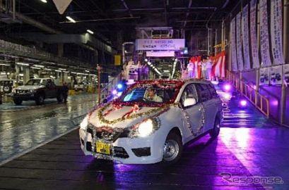 日産車体、湘南工場で新型 NV150 AD の量産開始