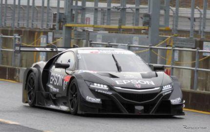 【SUPER GT】2チームの17年型NSX-GT、もてぎでシェイクダウンに臨む…「初日としては順調」