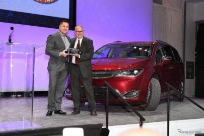 【デトロイトモーターショー2017】北米SUVオブザイヤー、クライスラー 獲得…CX-9 は逃す
