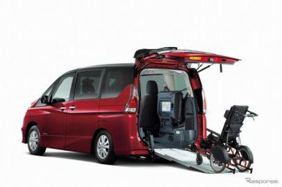 オーテック、セレナ福祉車両を発売…車いすの子どもと安心ドライブ