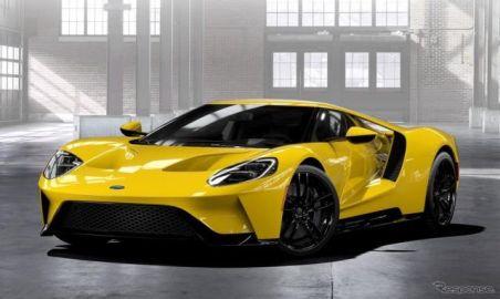 フォード GT 新型、647馬力に確定…最高速は347.6km/h