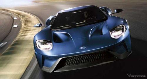 フォード GT 新型、サーキットタイム公表…マクラーレンやフェラーリより速い