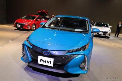 【トヨタ プリウスPHV 新型】村上常務「グローバル販売の半分以上を日本で」