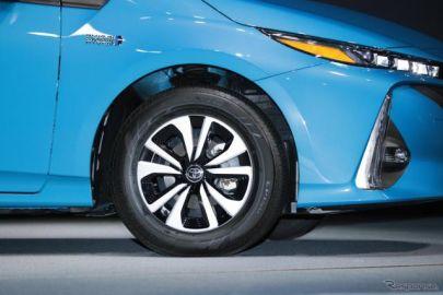 【トヨタ プリウスPHV 新型】ブリヂストン、エコピア EP150を新車装着