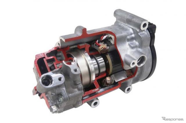 ガスインジェクション機能付電動コンプレッサー ESBG27