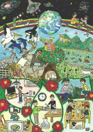 GSユアサ、小学生ECO絵画コンクールの入賞作品を発表…全国から1282作品の応募