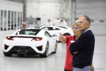 アキュラ NSX 新型の工場見学ツアー開始…オーナー限定、米国で