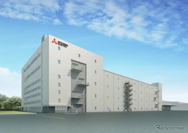 三菱電機 姫路製作所広畑工場新棟 完成予想図