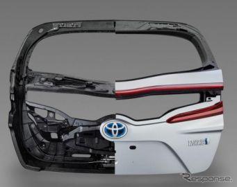 【トヨタ プリウスPHV 新型】CFRP製バックドア、三菱レイヨンの炭素繊維材料を採用
