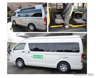 オリックス宮内財団、熊本地震被災地の児童養護施設に福祉車両5台を寄贈