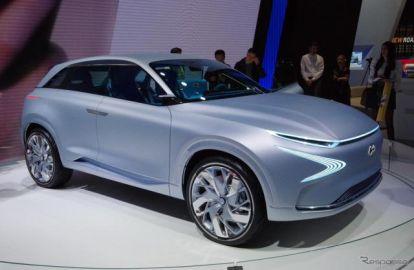 【ジュネーブモーターショー2017】ヒュンダイ、次世代燃料電池車を2018年市販へ…コンセプト公開