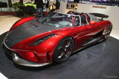 【ジュネーブモーターショー2017】ケーニグセグ レゲーラ、量産第1号車を初公開…1500馬力のPHVスーパーカー