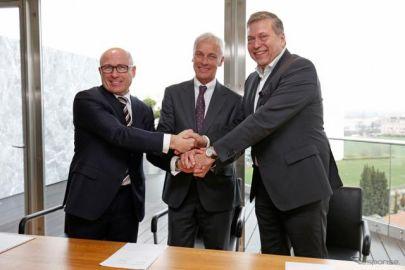 VWとタタ、戦略的提携に向けた覚書を締結