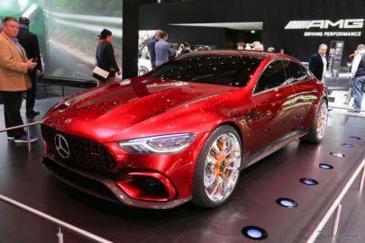 【ジュネーブモーターショー2017】メルセデスAMG GTコンセプト…816馬力の4ドアスポーツ[詳細画像]