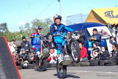 まるごとバイクフェスティバル---見て・触って・体験 4月29日