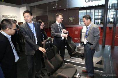 【上海モーターショー2017】レカロ、中国市場に参入…自動運転用シートも視野に