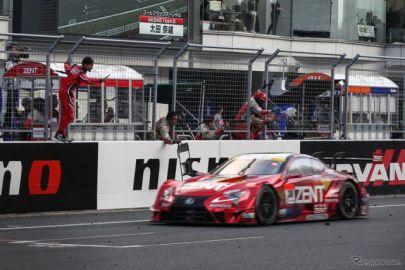 【SUPER GT 第2戦】GT500決勝…立川祐路&石浦宏明がポール・トゥ・ウイン、レクサス勢は富士でも表彰台独占
