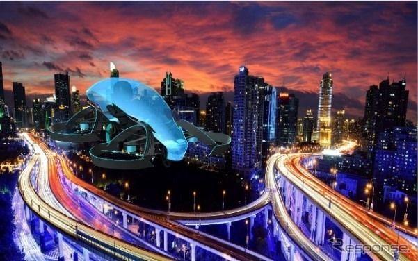 東京五輪の聖火点灯は「日本発の空飛ぶクルマ」…トヨタグループが開発支援