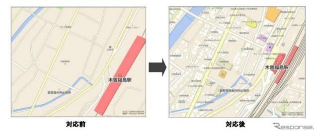 ゼンリンデータコム、各種サービスの市街図表示エリアを大幅拡張