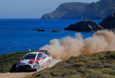 【WRC 第7戦】トヨタが5戦ぶりに表彰台獲得、3台体制で2-4-6位…フィエスタのタナクが初優勝