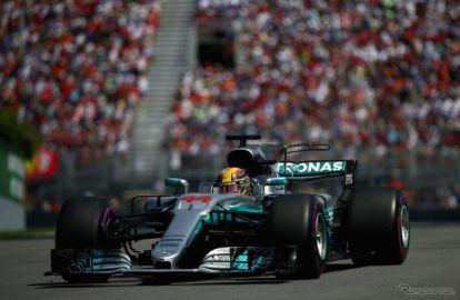 【F1 カナダGP】ハミルトンが今季3勝目、メルセデスが今季初のワンツー