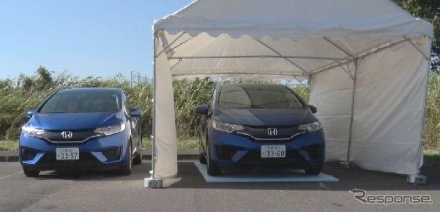 炎天下は日陰への駐車も要注意、日なたとの違いはわずか7度…JAF調べ