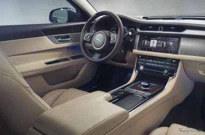 ジャガー XF スポーツブレーク 新型、最新コネクト採用…車と対話も