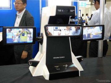 【人とくるまのテクノロジー2017名古屋】村上開明堂、電子ミラーシステムやガラス加工技術を応用したコンソールなどを出展